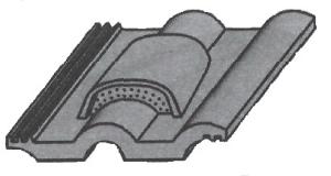 Черепица вентиляционная