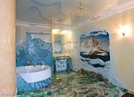 Дизайн ванной с пано